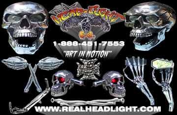 Real Headlight Business Card Front