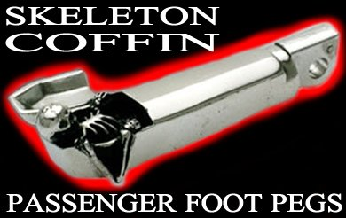 Skeleton Coffin Passenger Pegs $259.00